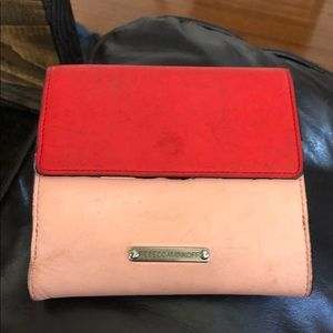 Well worn Rebecca Minkoff wallet